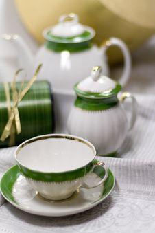 Free Tea Service Royalty Free Stock Photos - 8224898
