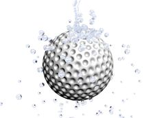 Free Golf Ball Royalty Free Stock Images - 8224969