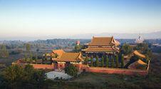 Free Zhong Hua Chinese Buddhist Monastery Stock Images - 8225204