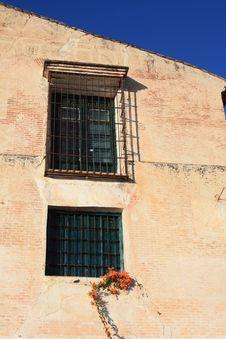 Free Barred Windows ( Spain ) Royalty Free Stock Image - 8226386
