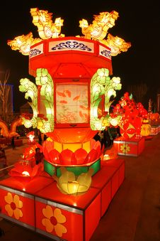 Chinese Festival Lantern Stock Images