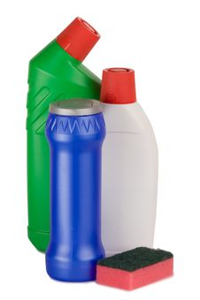 Free Cleaning Supplies Stock Photography - 8226892
