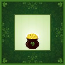 Free Card For St. Patrick S Day Stock Image - 8227041