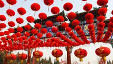 Free Red Lantern Royalty Free Stock Photography - 8227757