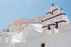 Free Oia On Santorini Island, Greece - Blue Sky, Church Stock Photo - 8227790
