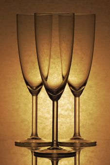 Free Three Glasses Of Glass Stock Photos - 8228153