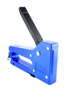 Stapler To Wood Stock Images