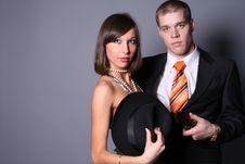 Free Romantic Couple Royalty Free Stock Photos - 8229378