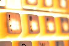 Free Lighting Keyboard Stock Photos - 8229443