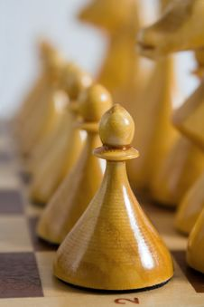 Free Pawn In Row Stock Images - 8229804