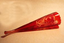 Free Horn From Red Glass Royalty Free Stock Images - 8229839