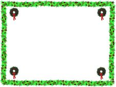 Free Wreaths And Holly 2009 Royalty Free Stock Photos - 8229878