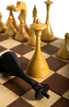 Free Defeat In Chess, Checkmate Stock Images - 8229914