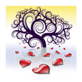 Free Tree And Hearts Stock Photo - 8231510