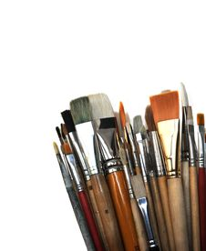 Free Brushes Royalty Free Stock Photos - 8230508
