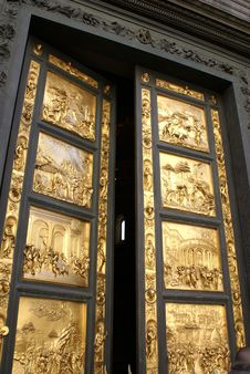 Free Gold Doors 1 Stock Photo - 8230510
