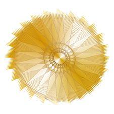 Free Gold Circle Royalty Free Stock Image - 8230656