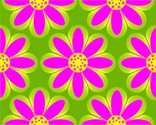 Free Flowers Pattern Royalty Free Stock Images - 8230999