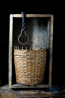 Free Wicker Basket Royalty Free Stock Image - 8234316