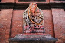 Free Nepalese Sculpture Stock Images - 8234394