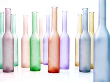 Free Colorful Glass Bottles Stock Images - 8234514