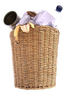 Free Wastepaper Bin Royalty Free Stock Photo - 8235315