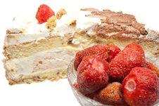 Free Cream Cake Royalty Free Stock Photos - 8235888