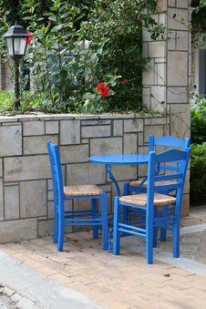 Free Greek Traditional Taverna Stock Image - 8236001