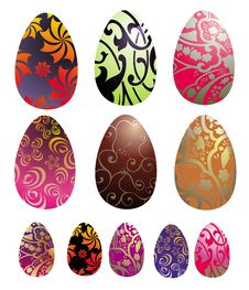 Collection Of Best Vector Egg Stock Photo