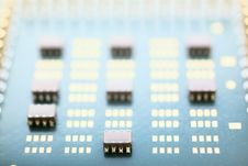 Free Macro CPU Stock Photography - 8236182