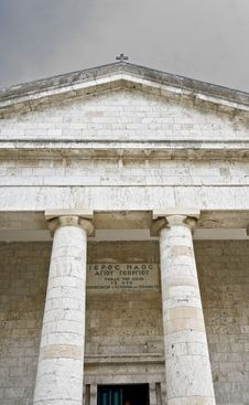 Free Greek Style Temple Stock Image - 8236311