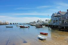 Free Houses And Harbor Stock Photos - 8236553