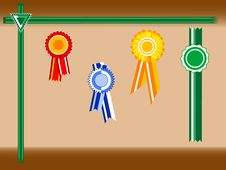 Free Colored Rosettes Stock Images - 8236624