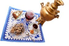 Time To Drink Tea. Royalty Free Stock Photos