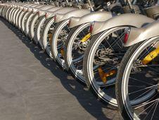 Free Paris Rental Cycle Royalty Free Stock Images - 8237179