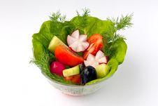 Free Fresh Salad Bowl Stock Images - 8237434