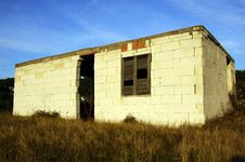 Broken House Stock Image