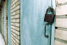 Free Locked Doors Stock Photo - 8239120