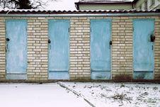Free Locked Doors Royalty Free Stock Photo - 8239155