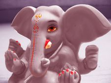 Free Lord Ganesha Royalty Free Stock Photography - 8239287