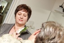 Free Woman With Boutonniere Stock Photo - 8239760