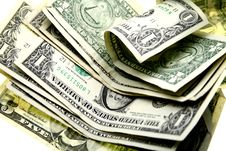 Free Pile Of Money Stock Photography - 8239862