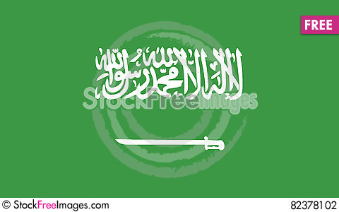 Free Flag Of Saudi Arabia Vector Icon Illustration Stock Photography - 82378102