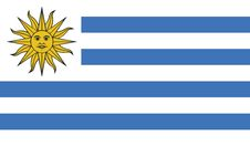 Free Flag Of Uruguay Vector Icon Illustration Stock Image - 82377941