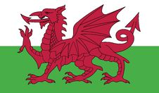 Free Flag Of Wales Vector Icon Illustration Royalty Free Stock Photos - 82377988