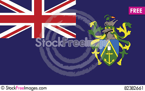 Free Flag Of Pitcairn Islands Vector Icon Illustration Stock Image - 82382661