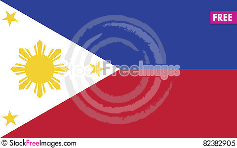 Free Flag Of Philippines Vector Icon Illustration Royalty Free Stock Photo - 82382905