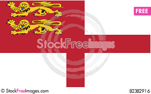 Free Flag Of Sark Vector Icon Illustration Royalty Free Stock Image - 82382916