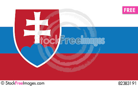Free Flag Of Slovakia Vector Icon Illustration Stock Image - 82383191