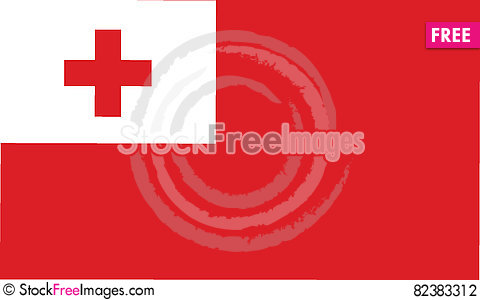 Free Flag Of Tonga Vector Icon Illustration Stock Photography - 82383312